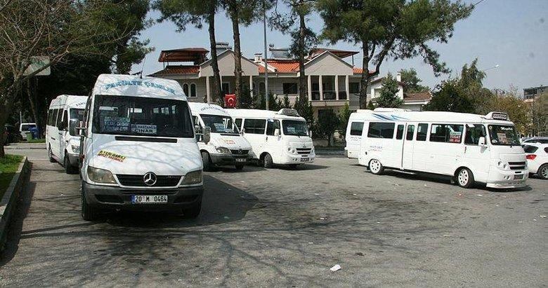 Minibüslerde en fazla 7 yolcu taşıma dönemi
