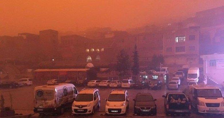 Çöl tozunda virüs tehlikesi: Hafta sonu Türkiye'ye geliyor