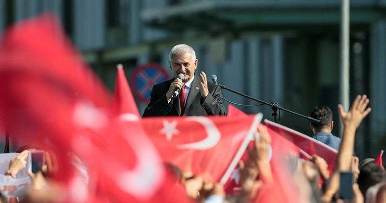 Yıldırım: İzmir bizi her zaman bağrına bastı