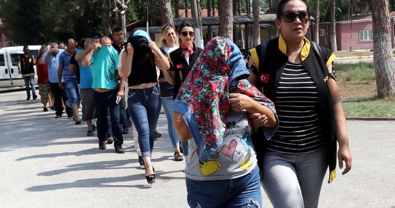 Adana merkezli 5 ildeki fuhuş operasyonu