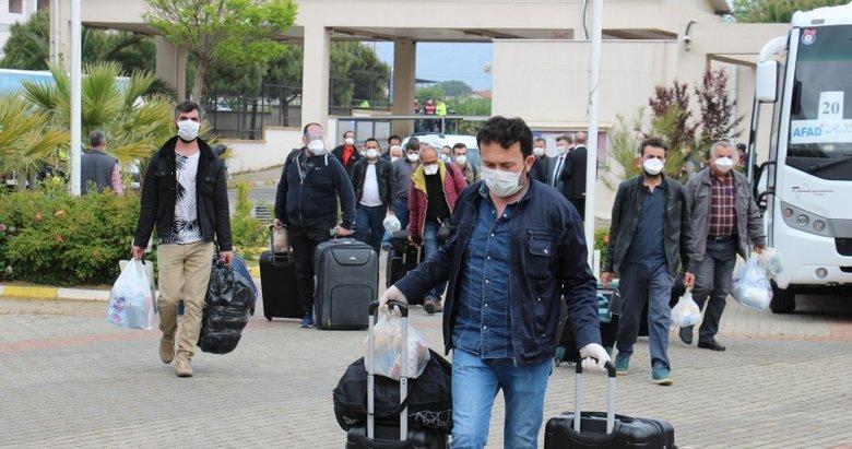 Dönüşler sürüyor: 87 Türk vatandaşı daha yurda getirildi