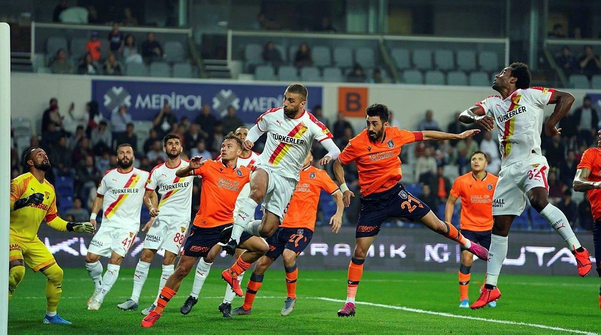 Göztepe'nin 5 maçlık serisi sona erdi