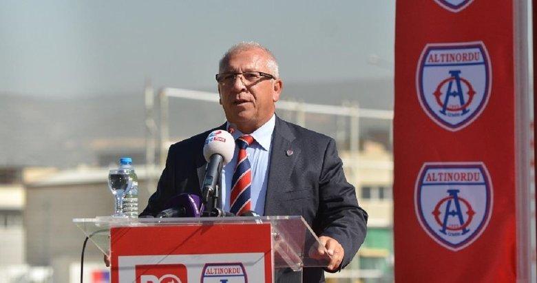 Altınordu Başkanı Seyit Mehmet Özkan'dan ilginç çıkış: Süper Lig'e çıkmak istemiyorum