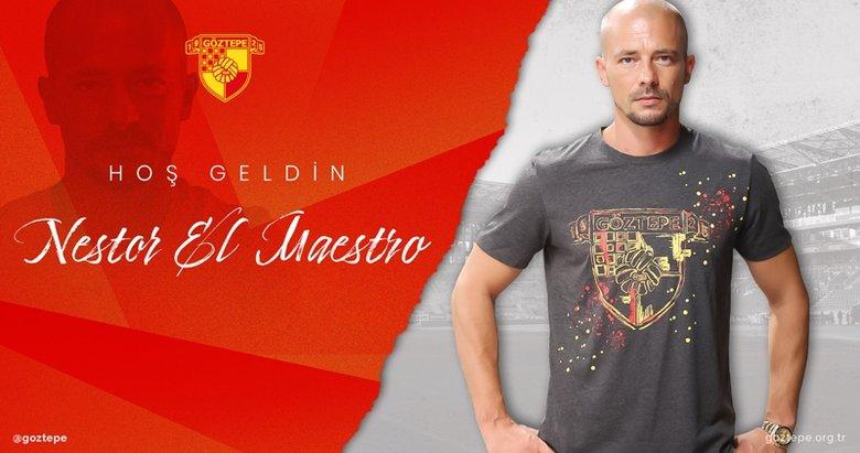 Göztepe'nin yeni teknik direktörü Nestor El Maestro oldu