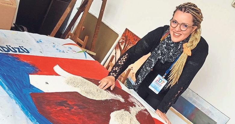 İzmir'den Ortadoğu'ya sanat tekniği ihraç etti