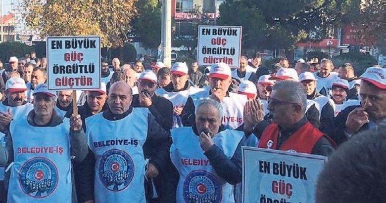 Gaziemir'de işçilerden Başkan'a tepki: 'Kaldıramıyorsan istifa et!'