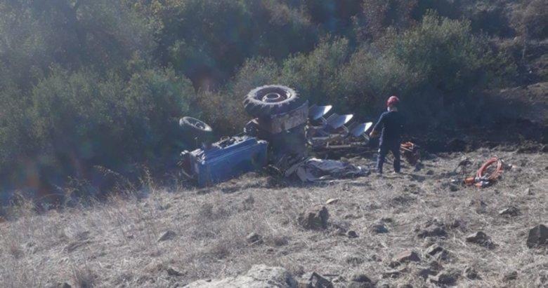Balıkesir'de feci son! Tarla sürerken traktörün altında kalan çiftçi...