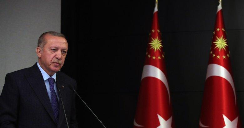 Başkan Erdoğan şehit Astsubay Demirci'nin ailesine başsağlığı diledi