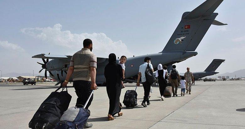 Kabil'den Türk vatandaşı için uçan kale ile tahliye