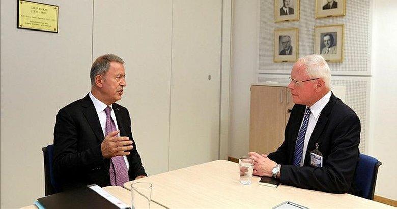Türkiye ile ABD arasında NATO Karargahı'nda önemli temas