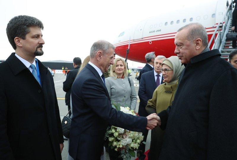 Başkan Recep Tayyip Erdoğan Macaristan'da