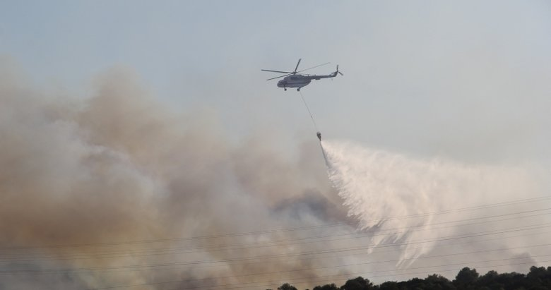 İzmir'den sevindiren haber geldi! Yangın kontrol altına alındı