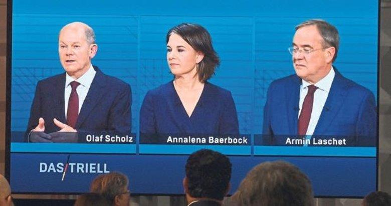 Canlı yayın düellolarının galibi Demokrat Scholz oldu