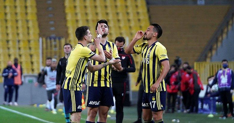 Fenerbahçe 3- Gaziantep FK 1 | MAÇ SONUCU