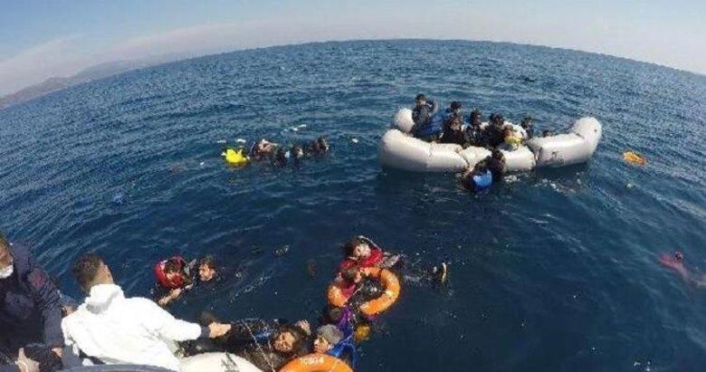 Sahil Güvenlik, 5 ayda Yunanistan'ın geri ittiği 1286 göçmeni kurtardı