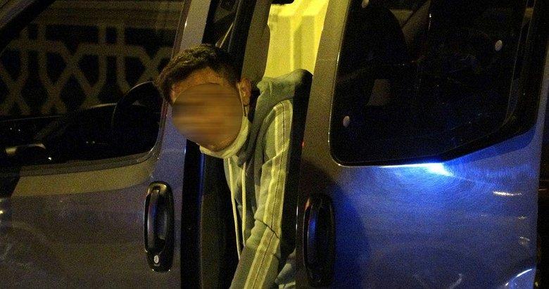 Covid-19'lu babasının arabasını izinsiz aldı, ortalığı birbirine kattı