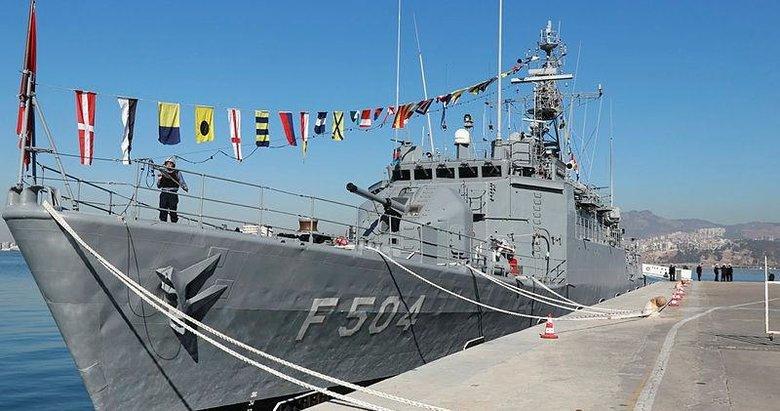 TCG Bartın gemisi ziyarete açıldı