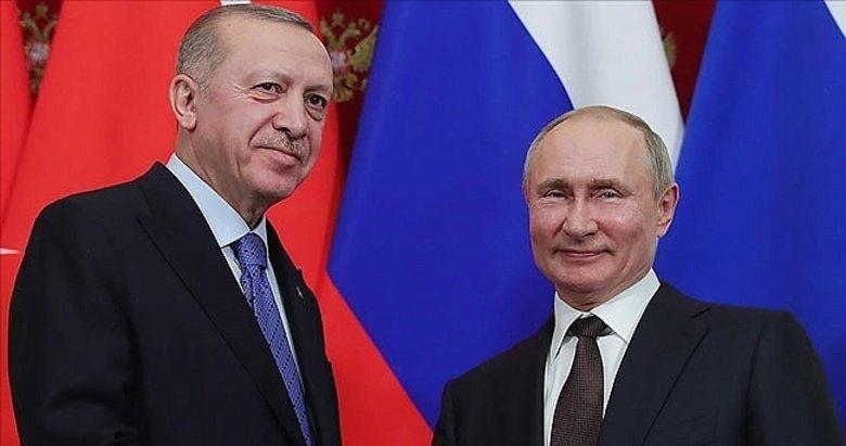 Başkan Erdoğan'dan yoğun telefon trafiği: Putin, Merkel, Kazımi