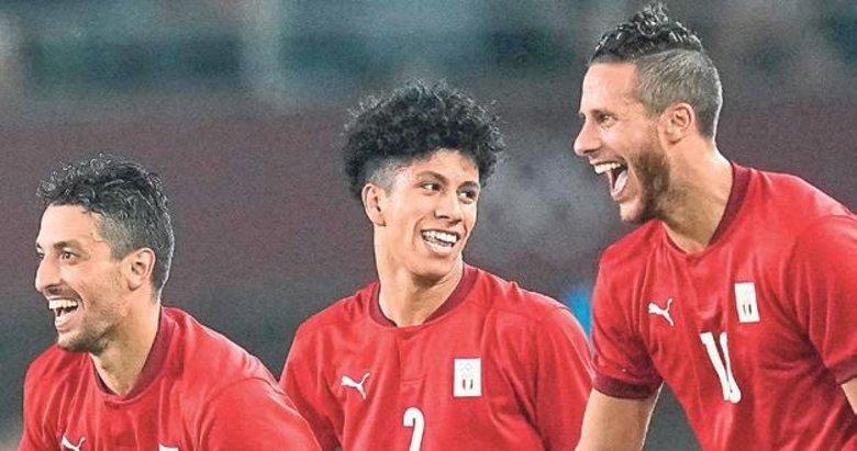 Mısır'dan futbolda muhteşem galibiyet