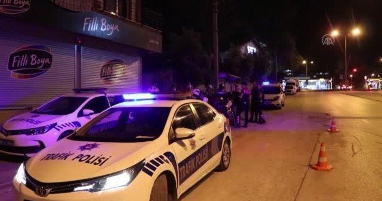Polise çarparak kaçtı! Denizli sokaklarında terör estirdi