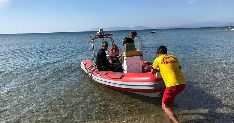 Balıkesir'de denizde kaybolan kadının cesedini Yunan balıkçılar buldu