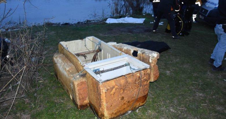 Buzdolabından yaptıkları saldan gölete düşen 2 kişi öldü