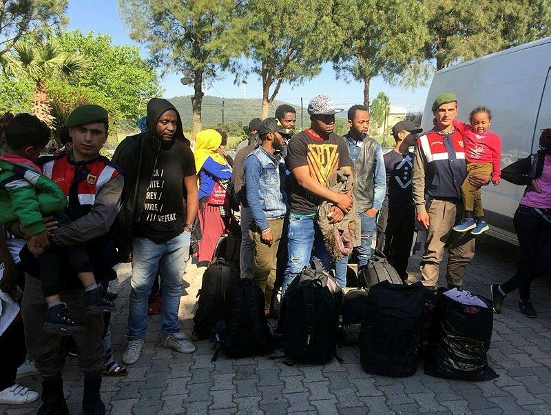 İzmirde yakalandılar