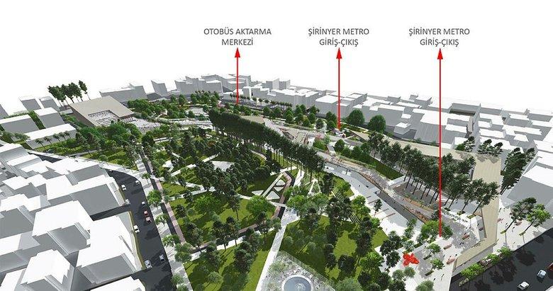 Şirinyer Parkı yenilenecek