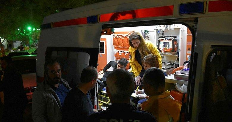 Manisa'da ilginç kaza! Cebinde açılan bıçakla bacağından yaralandı