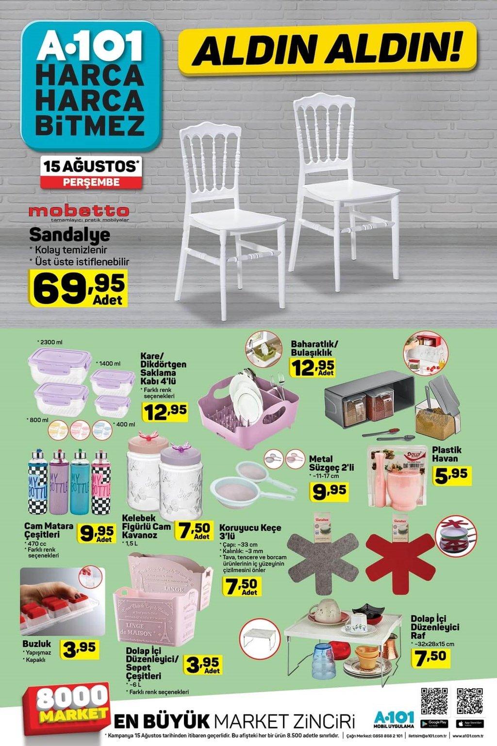 BİM A101 aktüel ürünler kataloğu! Bu hafta hangi ürünler indirimli?