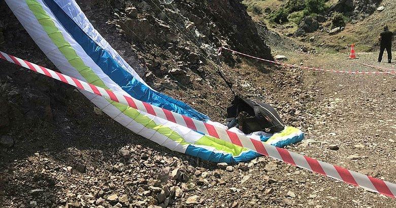 Kayıp paraşütçü ölü bulundu