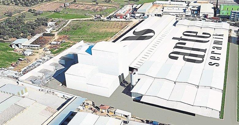 İzmir'e 150 milyon dolarlık dev seramik fabrikası