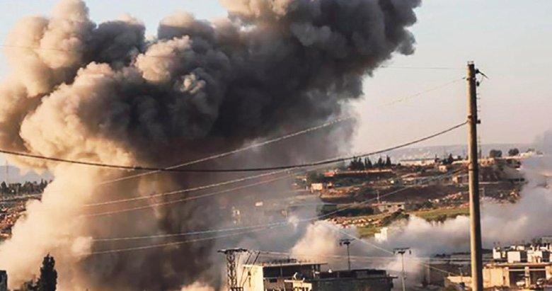 Esad sivillere saldırdı