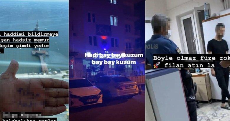 İzmir'de sosyal medyadan polisi tehdit eden şüpheli gözaltına alındı