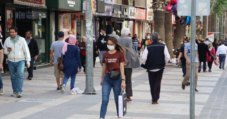Manisa'nın Alaşehir ilçesinde maskesiz sokağa çıkmak yasaklandı