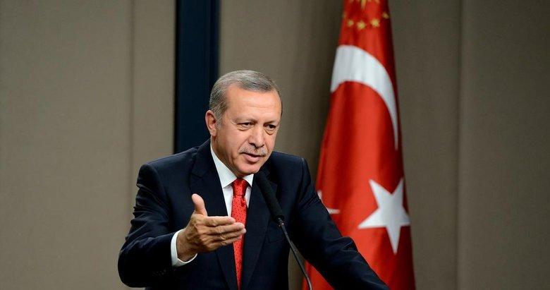 Başkan Erdoğan'dan 'Ertuğrul Gazi' mesajı