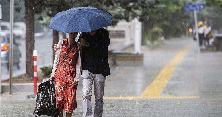 Meteoroloji'den o iller için kuvvetli yağış uyarısı