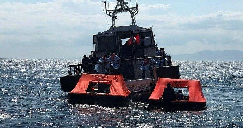 İzmir'de 63 düzensiz göçmen kurtarıldı, 38 düzensiz göçmen ise yakalandı