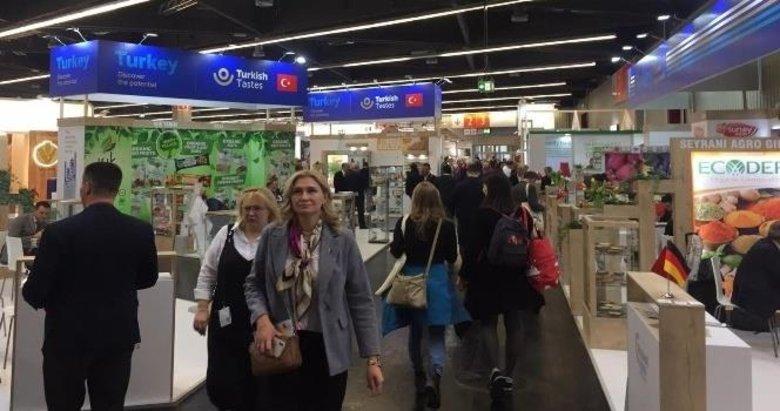 Ege'nin organik ürünleri Almanya'da ilgi odağı oldu