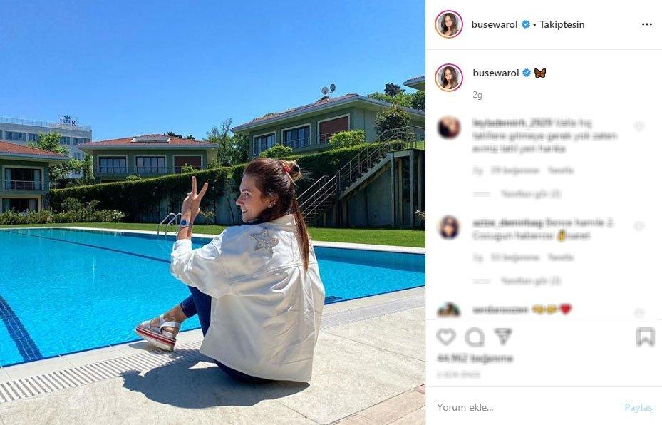 Sosyal medya paylaşımı kafaları karıştırdı! Buse Varol hamile mi?