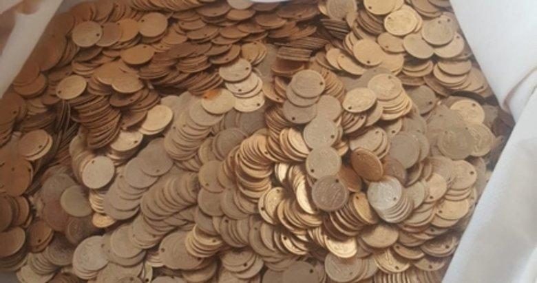 Balıkesir'de 7 bin sahte Osmanlı sikkesi için 150 bin lira verdi