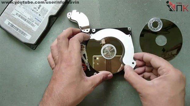 Eski bilgisayar parçalarından öyle bir şey yaptı ki...