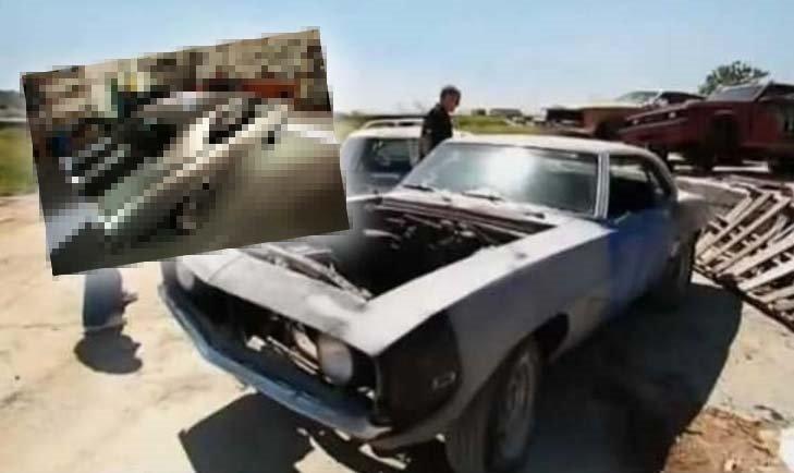1969 model Camaro aracı baştan yarattı! Hurdalıktan almıştı hayran kaldılar
