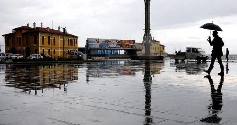 Meteoroloji'den uyarı geldi! Soğuk hava ve sağanak geliyor... İzmir'de hava nasıl olacak?