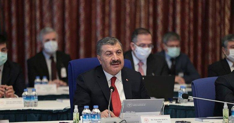 Sağlık Bakanı Fahrettin Koca: Koronavirüs aşısını ilk ben olacağım