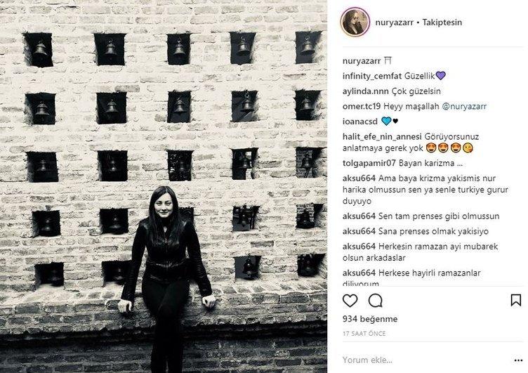 Ünlü isimlerin Instagram paylaşımları (16.05.2018)