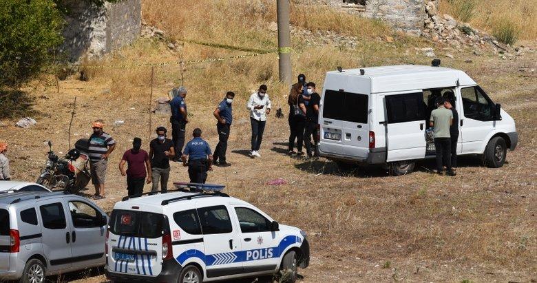 İzmir'de boş arazide ceset bulundu! Cinayet şüphesi var