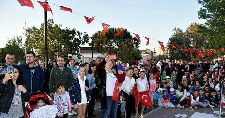 İzmirde bayram var