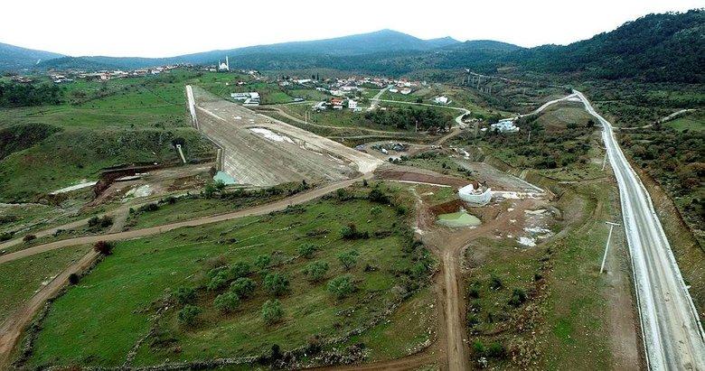Sarma Barajının yüzde 85'i tamamlandı! O ilçeye katkısı büyük olacak