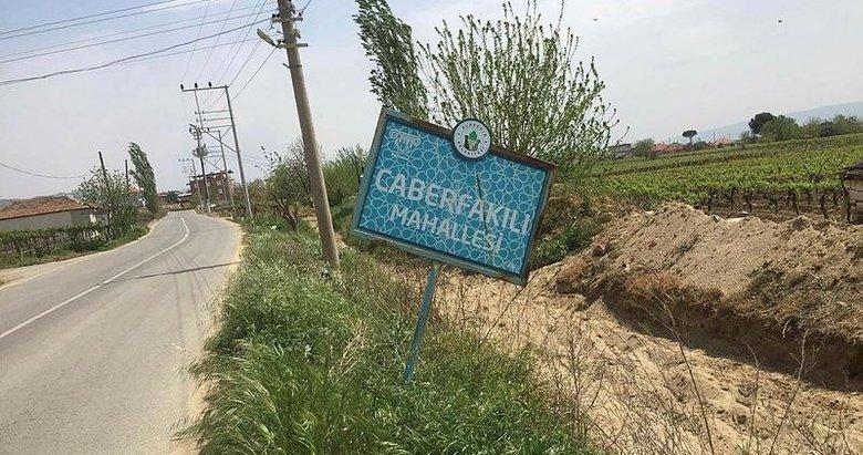Alaşehir'de Caberfakılı Mahallesi'ne giriş-çıkış kapatıldı
